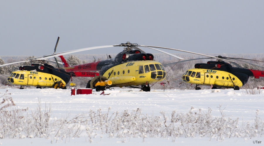 SkyTrac Systems in partnership with Eastern European distributor Depicon, expands automated flight tracking services to UTair-Helicopter Services' fleet of 46 Mil-8 helicopters.