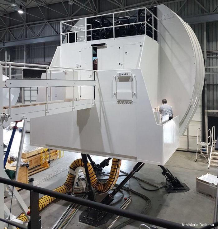 Indra Working on Simulator for Spanish NH90
