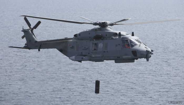 Leonardo to Upgrade Italian Navy NH90s with Mode 5 IFF Technology in €11M Contract