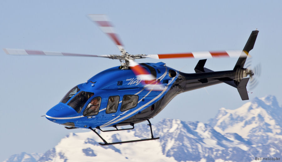 Bell Helicopter Reports New Purchase Agreements for VIP-Configured Aircraft in Europe
