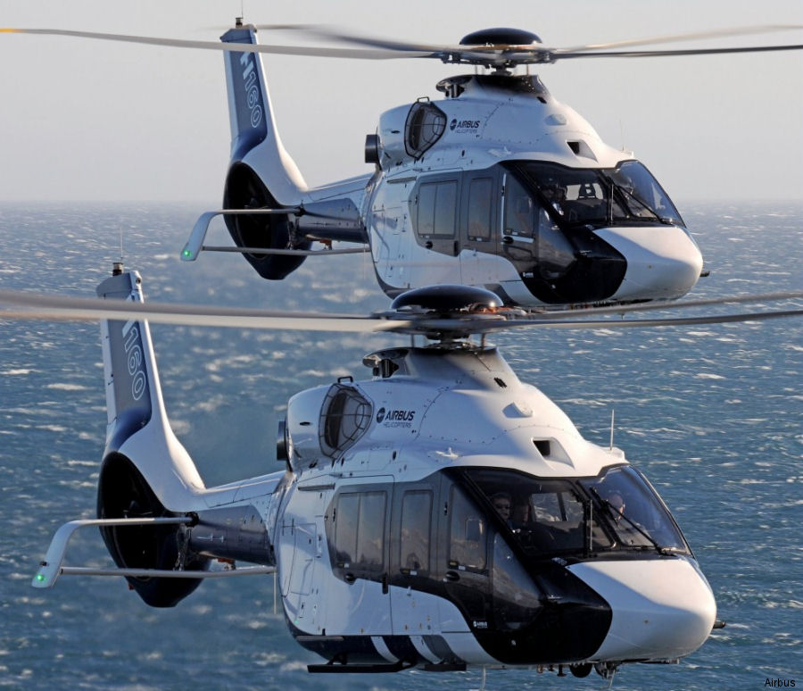The Airbus H160 will be present at Rotorcraft Asia 2017 at the Singapore's Changi Exhibition Centre, April 18 to 20