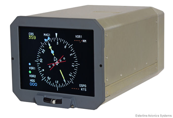 CMA-6800 Display STC for the S-76B/C