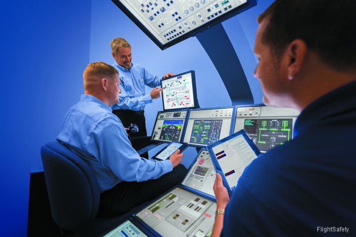FlightSafety and Sikorsky Announce New Sikorsky S-76D Graphical Flight-Deck Simulator