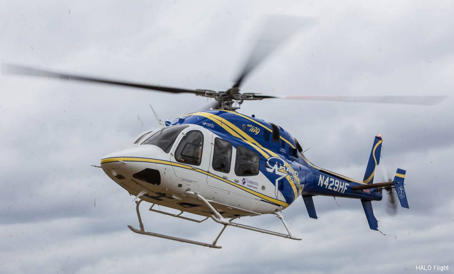 S.A.F.E. Structure designs universal maintenance stands for Halo Flight's Bell 407 and Bell 429