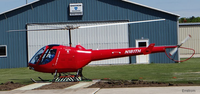 It's a Great Day to be in an Enstrom TH-180!