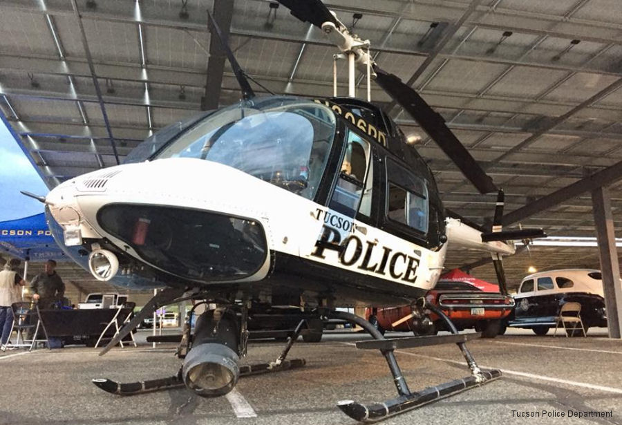 Able to Overhaul Tucson Police Bell 206s