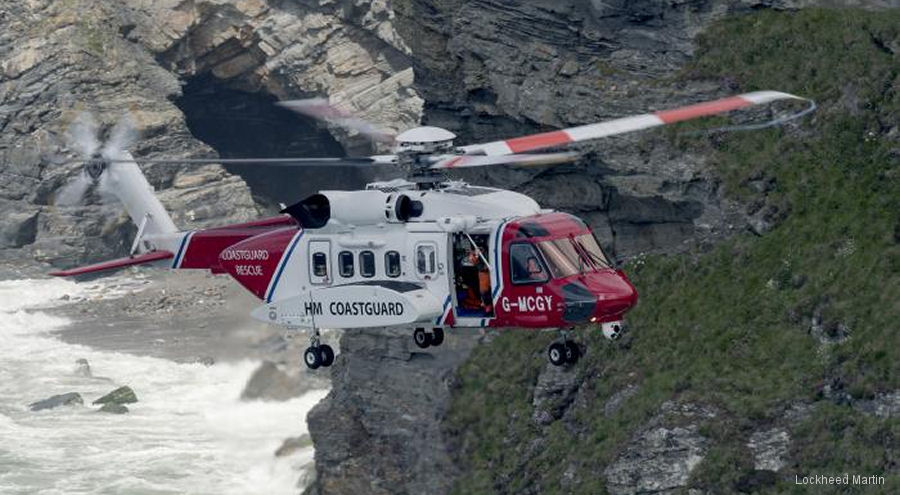 Sikorsky Presents Winged-S Rescue Award to Bristow S-92 Helicopter Crew