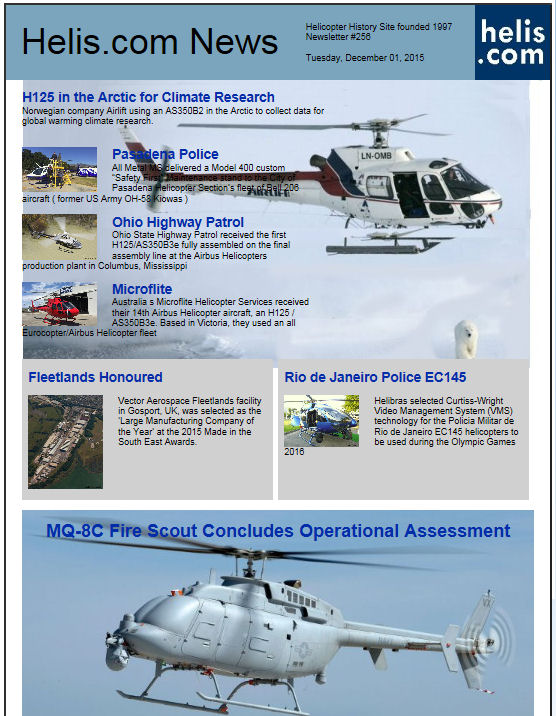 Helicopter News December 01, 2015 by Helis.com