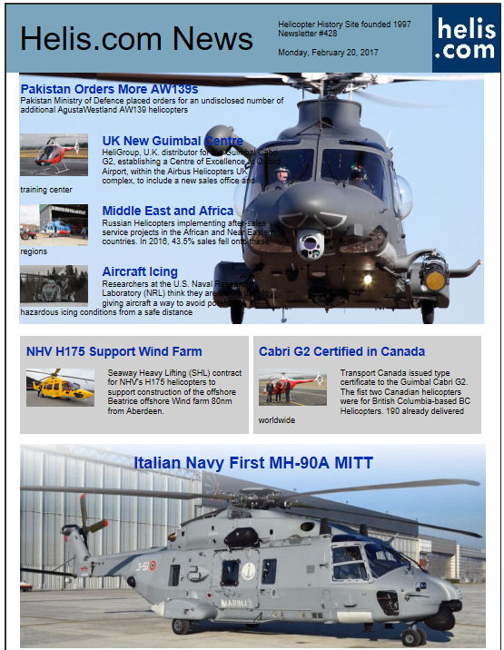 Helicopter News February 20, 2017 by Helis.com