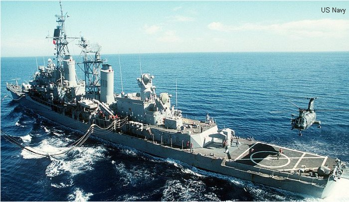 Coontz class Guided-Missile Destroyer