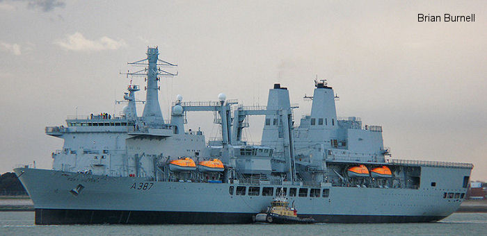 RFA Fort Victoria A387