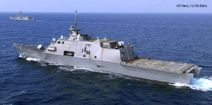 Littoral combat ship Freedom class