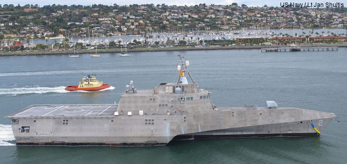 Littoral combat ship Independence class