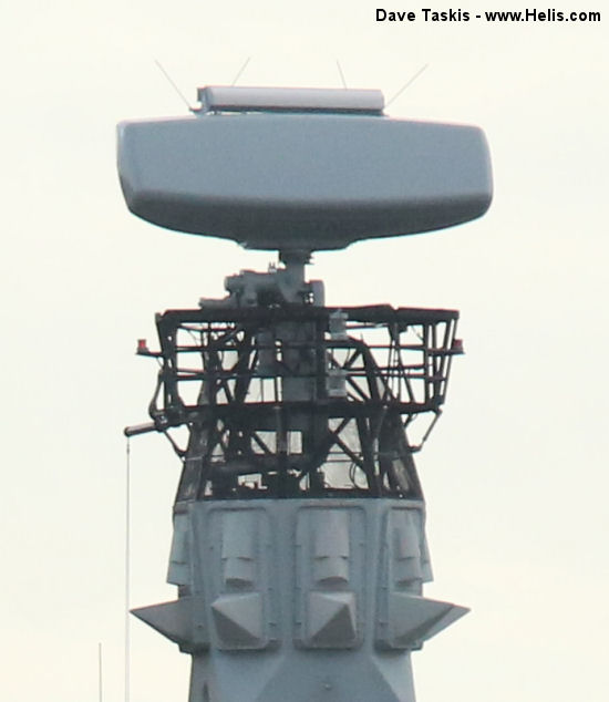 Naval Radar surface and low level air search radar Type 997