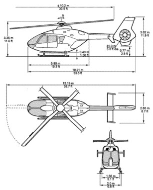 EC135 views blueprint