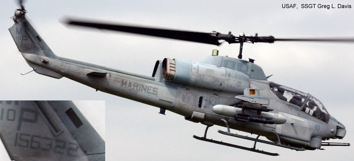 165322 Bell AH-1W Super Co C/N 26346 - Helicopter Database on uh-1n helicopter, uh-1h helicopter, agusta a129 mangusta, uh-1y venom, mh-60r helicopter, ch-53e super stallion, ah-1z helicopter, vh-3 helicopter, mh-60 helicopter, h-46 helicopter, hal light combat helicopter, uh-1b helicopter, ah-64 helicopter, ch-47 helicopter, ch-46 sea knight, ah-1 helicopter, uh-1y helicopter, f-14 tomcat, ah-1z viper, f/a-18 hornet, v-22 osprey, uh-1 iroquois, ah-1 cobra, ch-47 chinook, ah-64 apache, ch-53 sea stallion, attack helicopter, uh-1 helicopter, sh-60f helicopter, f-15 eagle, mh-53 helicopter, oh-58 kiowa, ch-46 helicopter, c-130 helicopter, f-16 fighting falcon, mh-60s helicopter, md helicopters mh-6 little bird, uav helicopter, mh-53e helicopter,