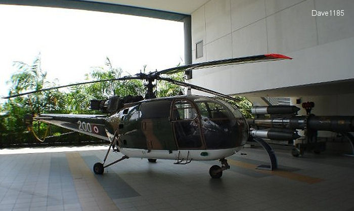 alouette iii Republic of Singapore Air Force
