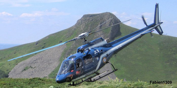as350 ecureuil  Gendarmerie Nationale