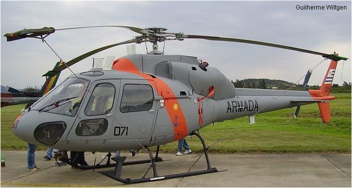 Aviacion Naval Uruguaya as355 ecureuil 2