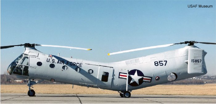 US Air Force H-21
