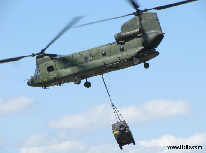 Boeing CH-47D Chinook c/n M.3666