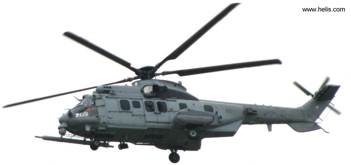 Helicopter Eurocopter EC725R2 Caracal Serial 2549 Register 2549 used by  Armée de l'Air (