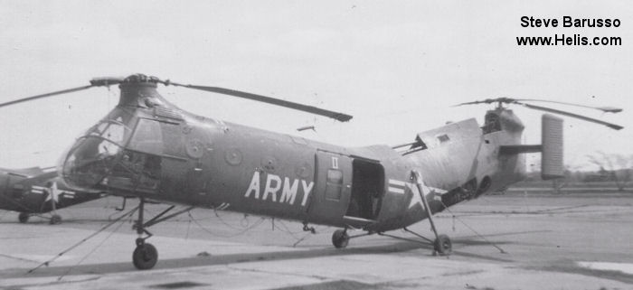 US Army Aviation H-21