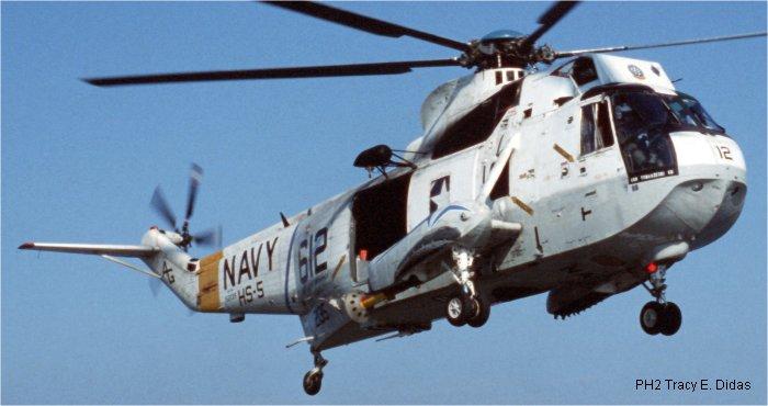 152135 Sikorsky Sh 3a Sea King C N 61 333