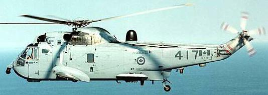 Canadian Armed Forces CH-124 Sea King