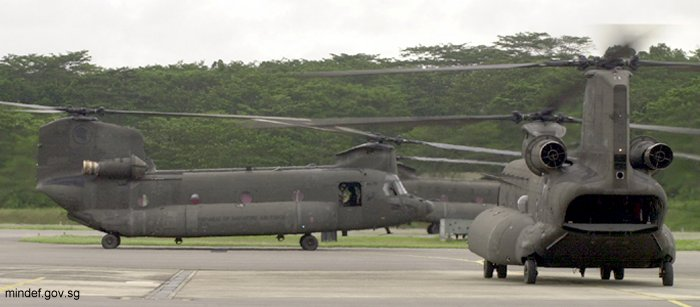 Republic of Singapore Air Force 414 - H-47D Chinook