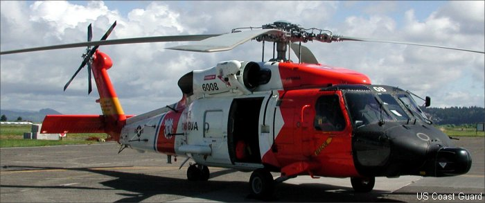 US Coast Guard s-70 H-60