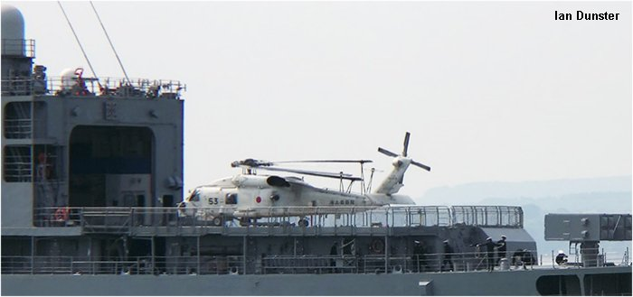 Japan Maritime Self-Defense Force SH-60J Seahawk