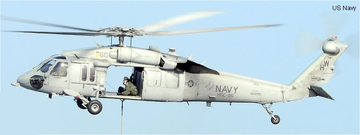Sikorsky MH-60S Seahawk c/n unknown