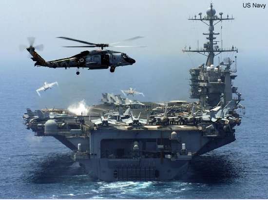 US Navy helicopters