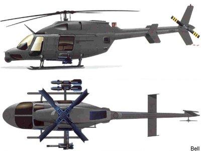 Resultado de imagen para Bell ARH-70 Arapaho