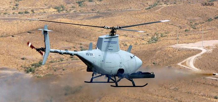 Northrop-Grumman RQ-8A Fire Scout c/n unknown
