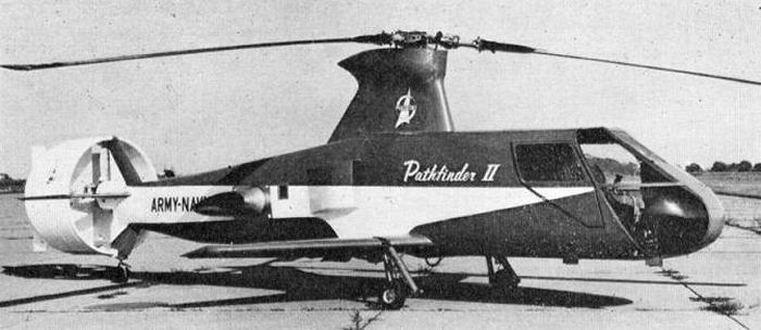 Piasecki 16H Pathfinder  Helicopters 1960s
