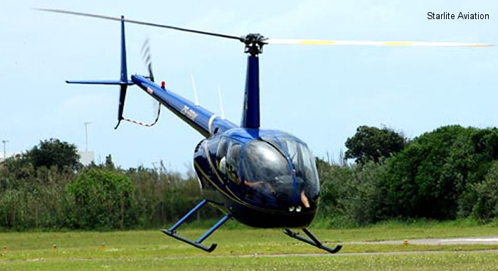 Starlite Helicopters r-44