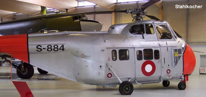 Elicottero S 55 : S h in flyvevåbnet