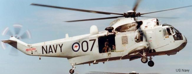 Fleet Air Arm (RAN) sea king