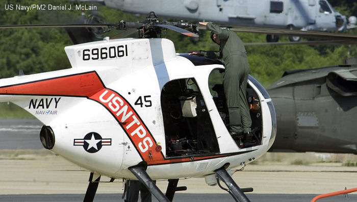 US Navy TH-6B Cayuse
