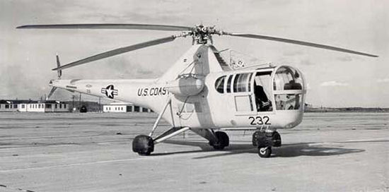 Coast Guard R-5 H-5 helicopter