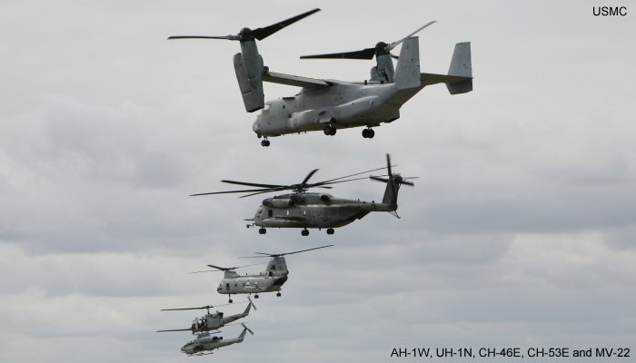 US Marine Corps - Helicopter Database