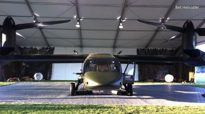 Bell Presenta su Aeronave de Rotor Basculante V-280 Valor de Tercera Generación V-280_mockup_2