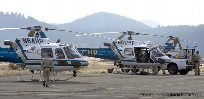 California Highway Patrol State Of California Helicopter