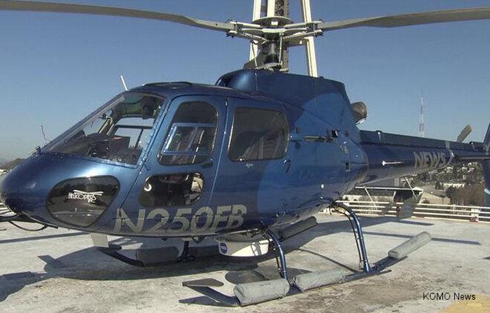 Eurocopter AS350B2 Ecureuil c/n 3669