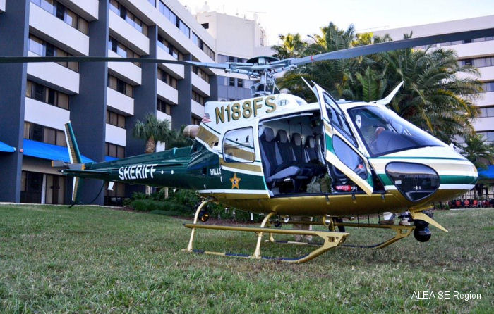Airbus Helicopters AS350B2 Ecureuil c/n 7863