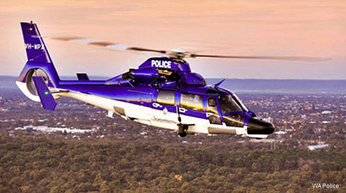 Eurocopter AS365N3+ Dauphin 2 c/n 6936