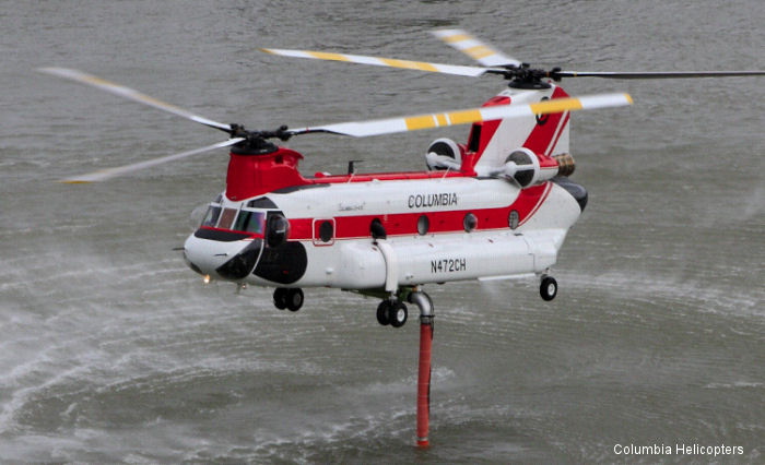 Boeing Ch 47d Chinook In Canada Helicopter Database