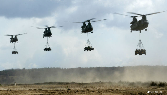Boeing Ch 47d Chinook